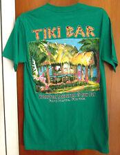 TIKI BAR sun logo Waterfront T shirt small Florida raw bar Fort Pierce tee OG