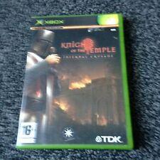 Los Caballeros del Templo Xbox PAL en muy buena condición