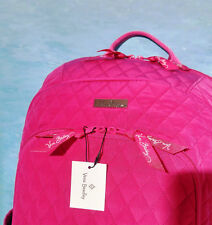 VERA BRADLEY Laptop Pink Backpack Fuchsia 15027-478 New Free Shipping RARE