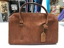 Pre-owned Coach brown leather handbag