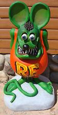 """42"""" 3D Rat fink Statue [-Gas & Oil-]"""