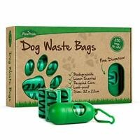 PawPride Dog Poo Bags - Pack of 250 Strong Biodegradable Waste Bags - 16 Rolls