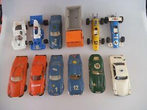Konvolut Stabo Car - 11 Slotcars - 1:32 Ferrari Jaguar Mercedes Rennwagen LKW