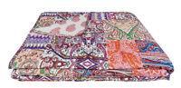 Trapuntino 1 piazza e mezza copriletto trapuntato mezza stagione patchwork gipsy