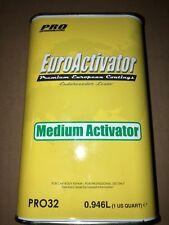 Euro Medium Activator Hardener 1 QUART PRO32  EUROPEAN COATING