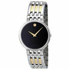 Movado Swiss Men's 0606044 Esperanza Two Tone Wristwatch MSRP $1195