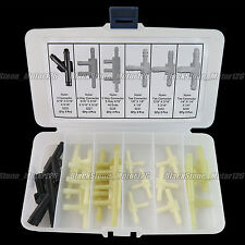 18 Pcs Vacuum Line Connector Assortment in Plastic Hose Kit For GM For Chrysler