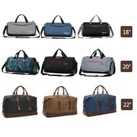 "18""-22"" Men Travel Gym Duffle Bag Sports Shoulder Bag Waterproof Carry-on Tote"