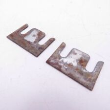 Corvette Original Push Button Door Lock Cylinder Mounting Shim Pair 1968