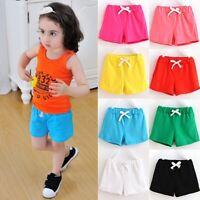 Kids Toddler Baby Boy Girl Summer Beach Shorts Short Pants Casual Trousers New D
