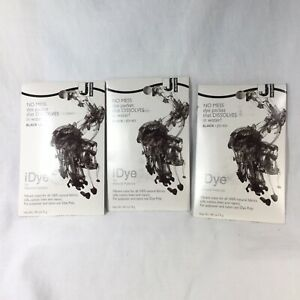 iDye Black 431 - 3 Pack - Fabric Dye for Natural Fabrics JIDI431 Lot 54586