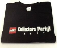 Star Wars Lego 2007 Toy Fair Collectors Party T-Shirt - Extremely RARE Item- NEW