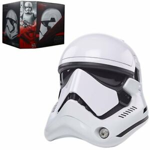 SHIPS 5/21! Star Wars Black Series First Order Stormtrooper Helmet Prop Replica