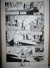 Charlie Adlard ORIGINAL ART PAGE X-Files 14 Pg 2 ALIEN INVASION `96 Walking Dead Comic Art