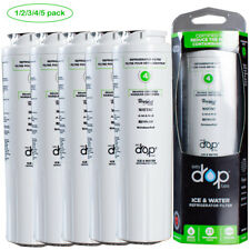 1-5Pack Every Drop Ukf8001 by Whirlpool Refrigerator Water Filter 4, Edr4Rxd1