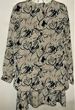 Womens Country Sophisticates by Pendleton 2 Piece Skirt Suit 18W Vintage Usa