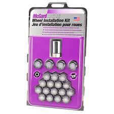 McGard 5 Lug Hex Install Kit (Clamshell) w/Locks (Cone Seat Nut) M12X1.5 / 13/16