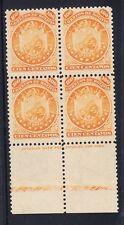 Bolivia Scott 13 Mint NH VF imprint block