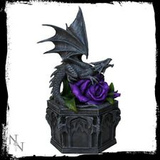 Anne Stokes Trinket Box featuring Dragon Beauty design