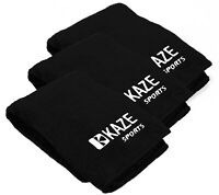 3 Pack KAZE SPORTS Microfiber Bowling Ball Cleaning Towel, 16 x 16 inch, seesaw