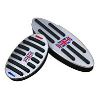 For Mini Cooper Countryman Clubman No Drill Brake Gas Pedal Cover Accessories