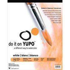 """Yupo Watercolor Paper Pad- 9""""x12"""" 10 sheets"""