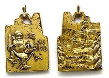 Medaglia Passo Rolle Cimone Della Pala M.1984 - Re Laurino Metallo Argentato