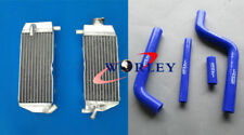 Aluminum Radiator AND HOSE for YAMAHA YZ 125 YZ125 2002 2003 2004 02 03 04