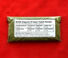 MAXX Organics 8 Super Foods Powder 30 Day Supply Compare to Organifi Green Juice