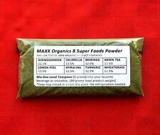 MAXX Organics 8 Super Foods Powder 30 Day Supply Compare to Organifi Green Juice