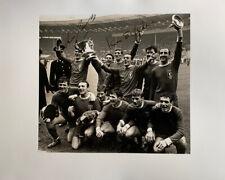 IAN ST JOHN & RON YEATS - LIVERPOOL FA CUP FINAL 1965 SIGNED PHOTO 12x8
