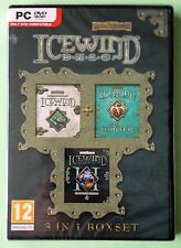 Icewind Dale 3 en 1 Coffret PC DVD-ROM DUNGEONS & DRAGONS jeux New & Sealed UK