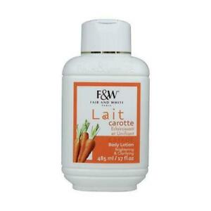 Fair and White Carrot-Brightening & Clarifying-Body Lotion 17oz-FREE UK POST!!!