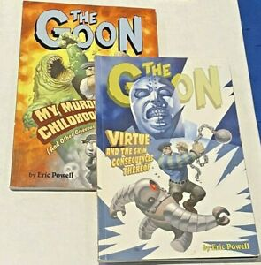 The Goon Volume 2 And 4 My Murderous Childhood SC TPB Eric Powell 1st Print