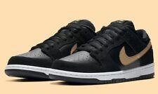 Nike SB Dunk Low Pro 'Takashi Dunks' BQ6817-002 Black Gold UK 3.5 EU 36 23cm New
