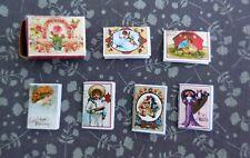 DOLLHOUSE MINIATURE ~ VALENTINE GREETING CARDS BOX KIT