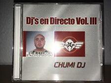 Dj's En Directo Vol.lll 3 . Chumi Dj . Solo Cd 2