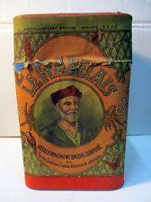Ancienne grande boite à épices RABELAIS en carton lithographiée
