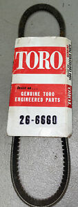 Toro Belt 26-6660 OEM NOS