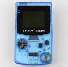 GB Boy a colori retroilluminato NINTENDO GAME BOY COLOR CLONE console NUOVO Crystal Blue