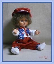 """ Denis "" NIB BOY DOLL LIACOPOYLOS B/O Made in Greece 90's Greek Vintage Rare"