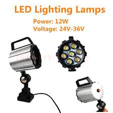 CNC 12W LED Lamp Flexible Work Light Lathe Milling Machine Grinder Bench 24V-36V