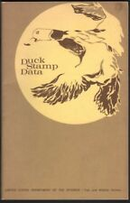 Duck Stamp Data, U.S. Dept. of the Interior, 1934-72