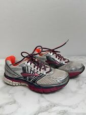 Brooks Womens Shoes Adrenaline GTS  Silver Pink DNA Mogo 6.5