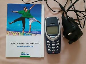 Nokia 3310 - Grey Mobile Phone. Bought from Virgin Mobile.