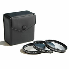 KOOD 72mm Close-Up Filter Set +1 +2 +4 for macro photography