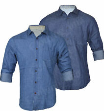 Unbranded Roll Sleeve Casual Shirts & Tops for Men