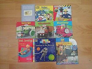 9 X Children's Books - Fireman Sam / Thomas & Friends / Bob The Builder ...