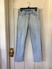 "Gap 1969 ""Auth Strght SU Light Indigo"" 5 Pocket Denim Jeans, Women's 27R"