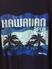 Hawaiian Open Soule Park 2018 Tee Shirt CSO Qualifying Men's XL Navy Blue NWOT